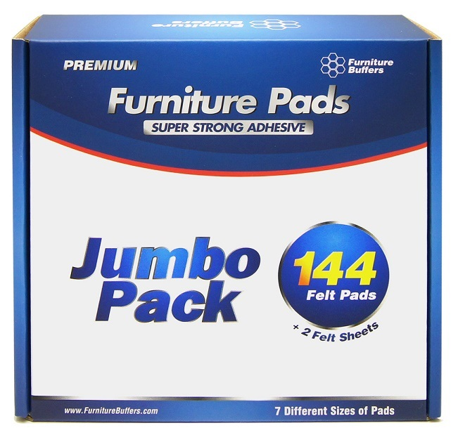 furniture buffers pack of 144